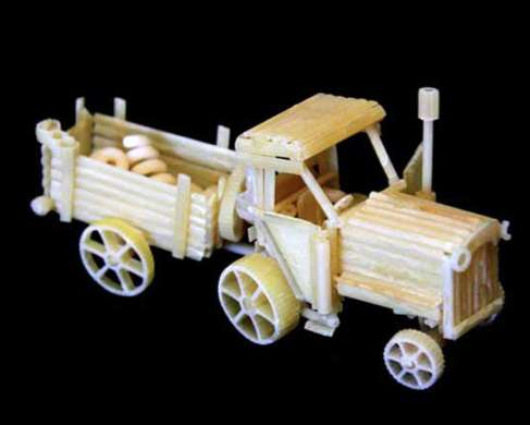Miniature Pasta Models