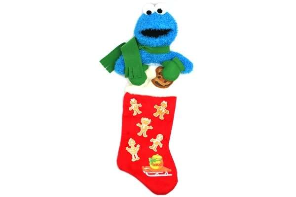 sesame street christmas stockings