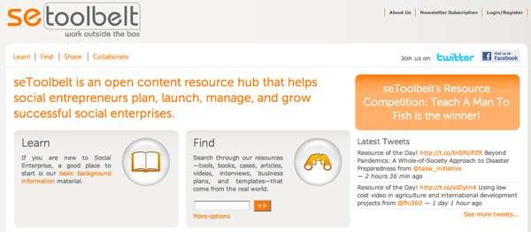 Community Resource Sites