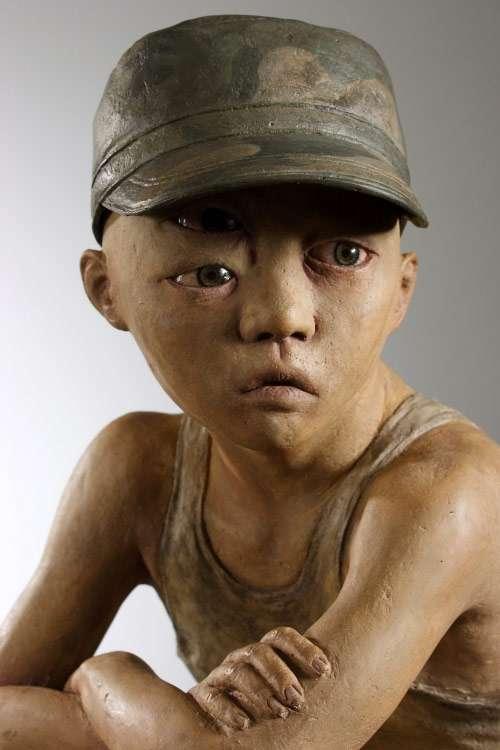 Distorted Deathlike Sculptures