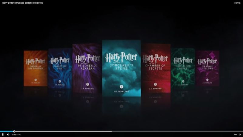 Digitally Enhanced Wizard Books