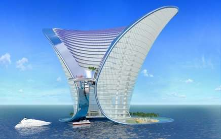 7 Star Dubai Hotel Luxury Living In A Funnel
