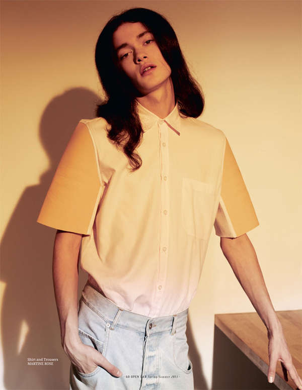 Retro Androgyny Editorials
