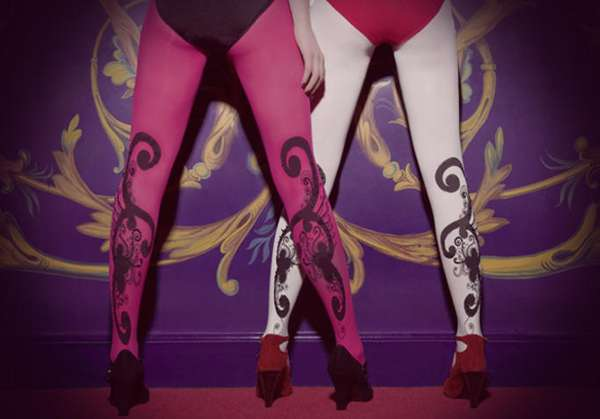 Artistic Leg Wear