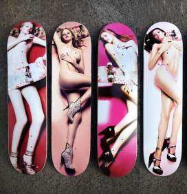 sexy skateboards will these highfashion skateboard designs be as