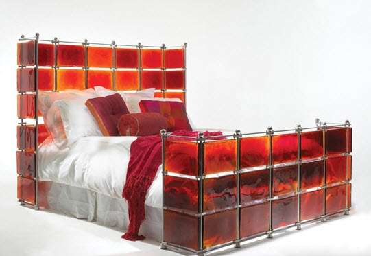 Sexy Stained Glass Beds