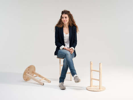Two Legged Seating Sgabellissimo Stool