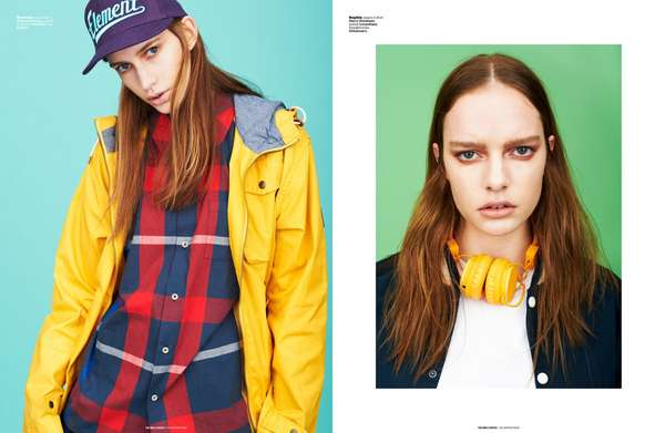 Edgy Tomboy Editorials