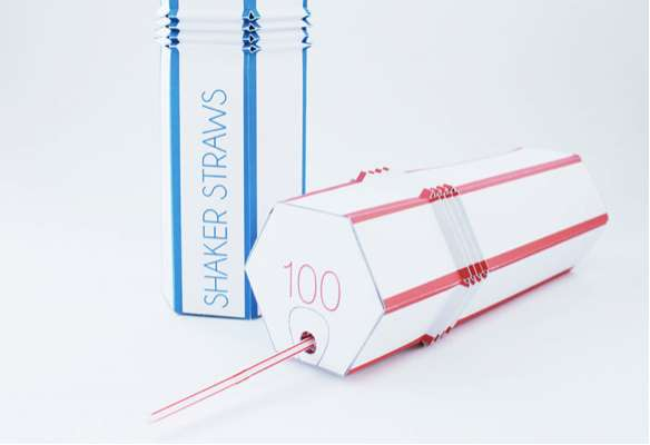 Shaker Straws Packaging