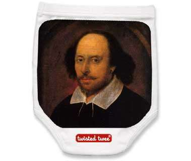 Shakespeare Diaper Covers