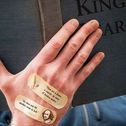 Old English Insult Bandages