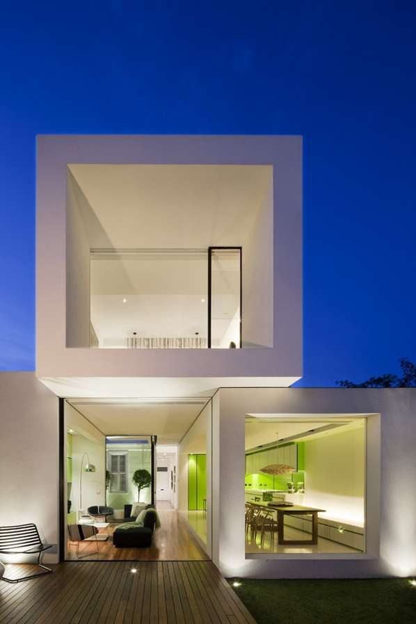Tetris-Inspired Homes