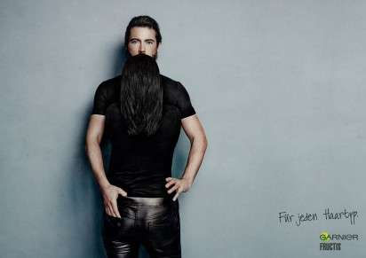 Flowing Facial Hair Ads