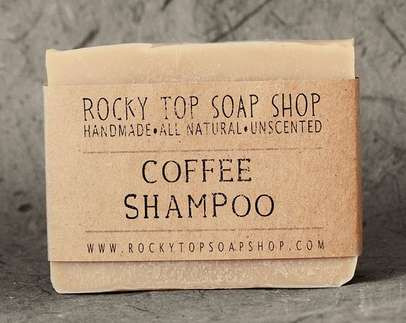 Coffee-Infused Shampoo Bars