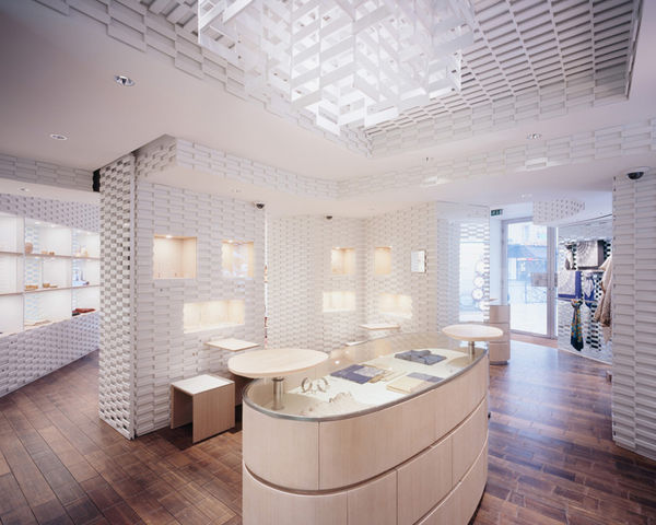 Ceramic Paneled Stores