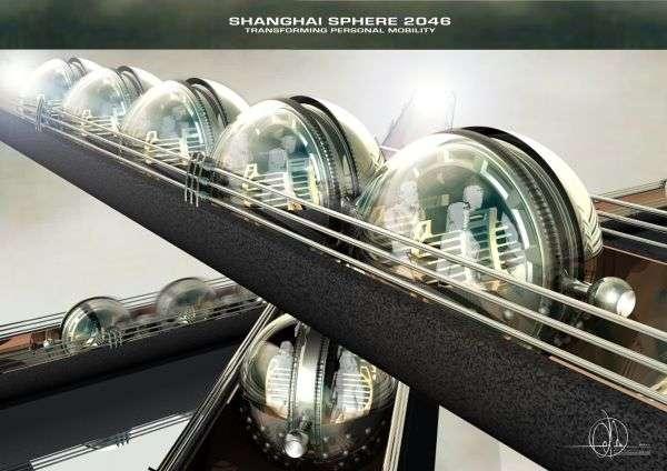 futuristic transportation orbs shanghai sphere. Black Bedroom Furniture Sets. Home Design Ideas