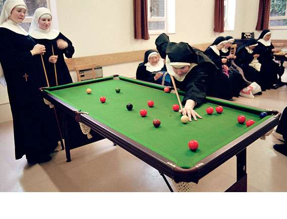Nuns Having Fun