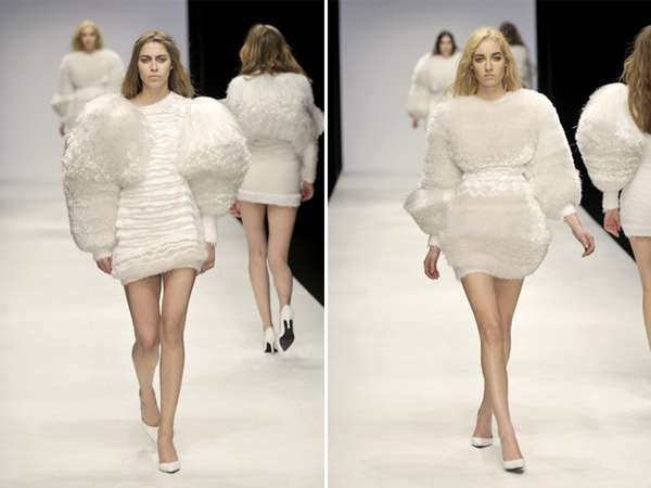 Marshmallow Couture Dresses