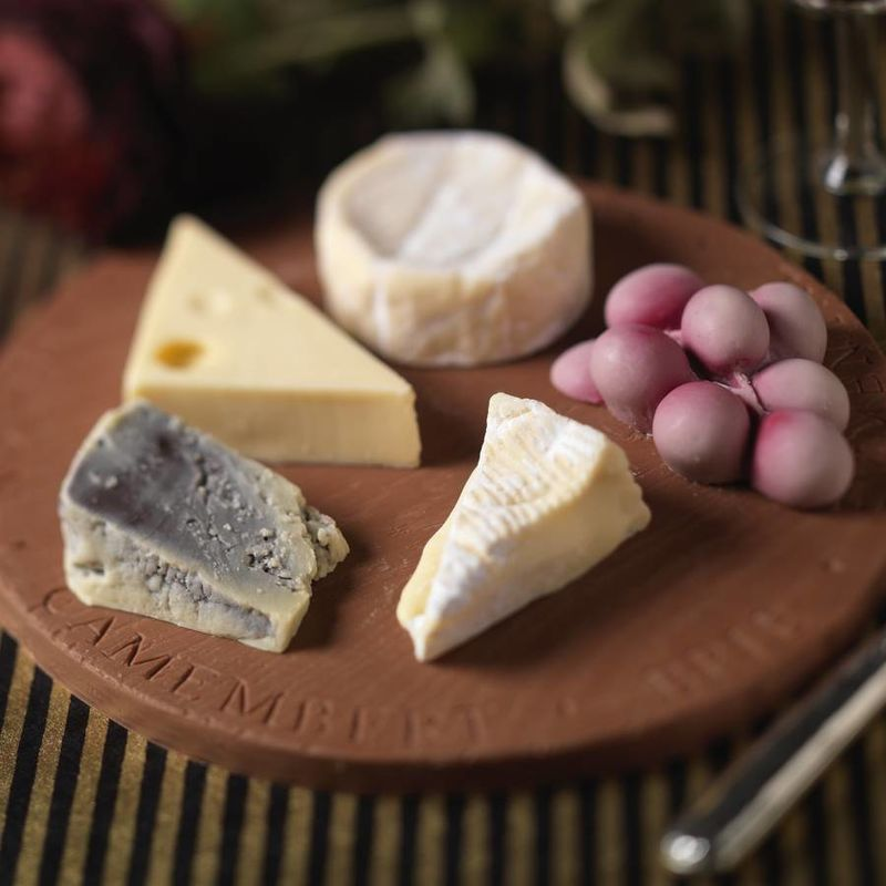 Cheese-Shaped Chocolate Boards