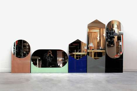 Shapes Mirrors by Sylvain Willenz for Hay