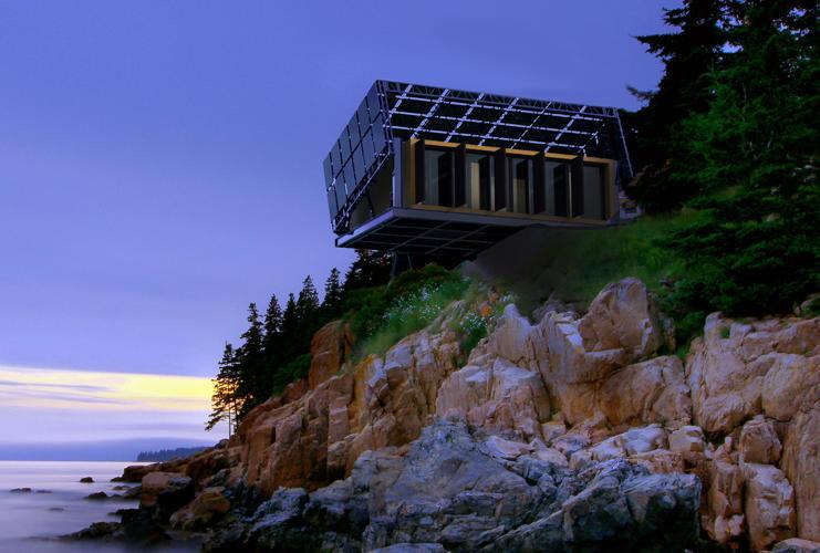 Rotating Solar Homes Shape Shifting Home