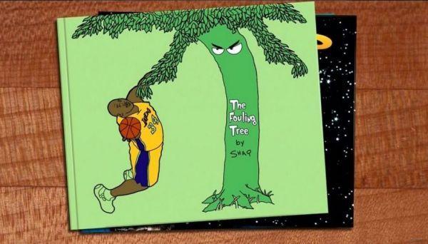 Basketball book parodies shaquille o neal
