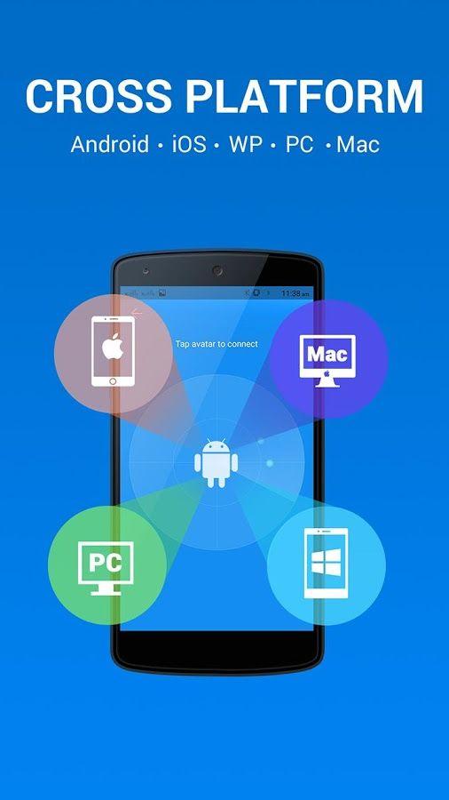 Cross-Platform Sharing Apps