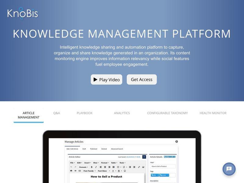 Organizational Knowledge-Sharing Platforms