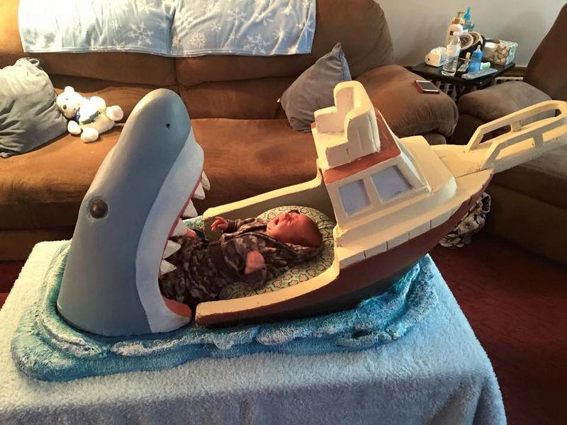 Ocean Predator Baby Furnishings