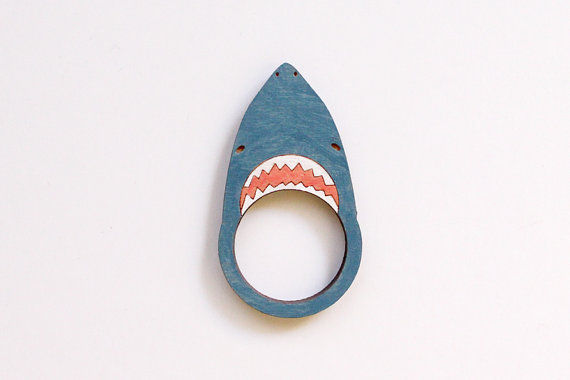 Sharp-toothed Ring Accessories