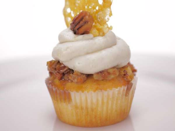 Sharp Cheddar cupcake