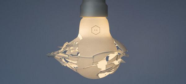 Pre-Shattered Light Bulbs
