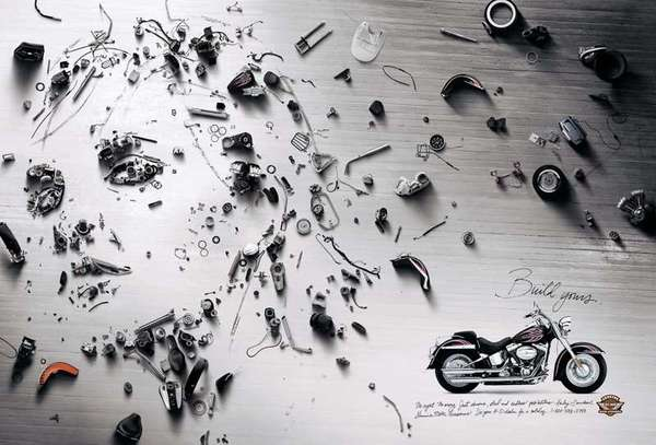 Deconstructed Motorcycle Ads