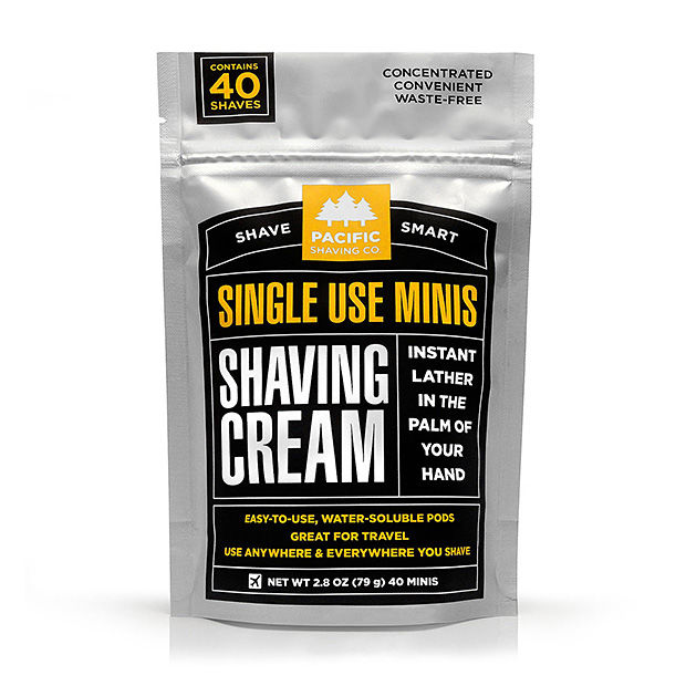 Compact Pod Shaving Creams