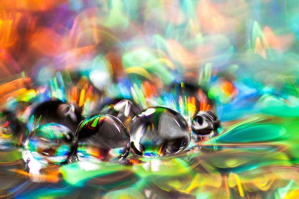 Macro Water Droplet Photography