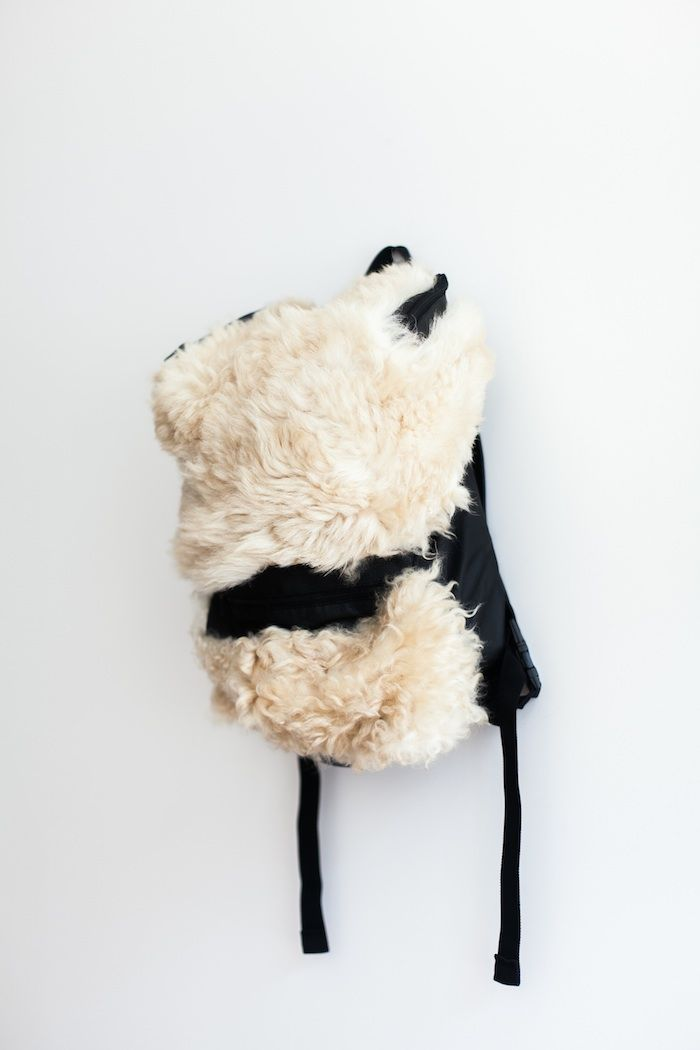 Designer Shearling Backpacks
