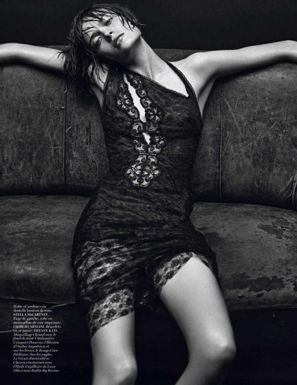Seductively Sheer Editorials