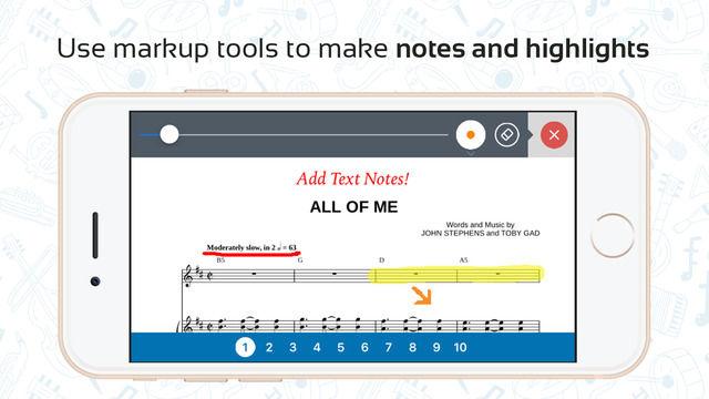 Streamlined Sheet Music Apps