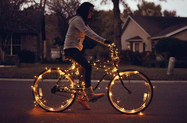 shelby tanner s illuminated bicycle