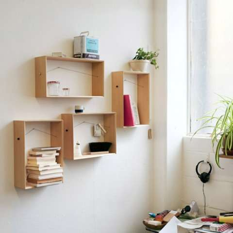 Pin-Up Shelving