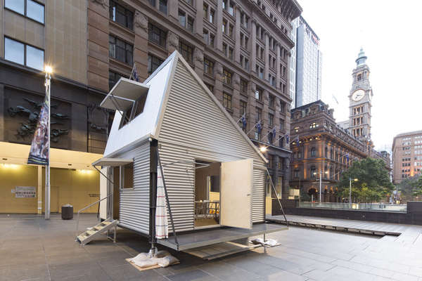 Resourceful Corrugated Cabins