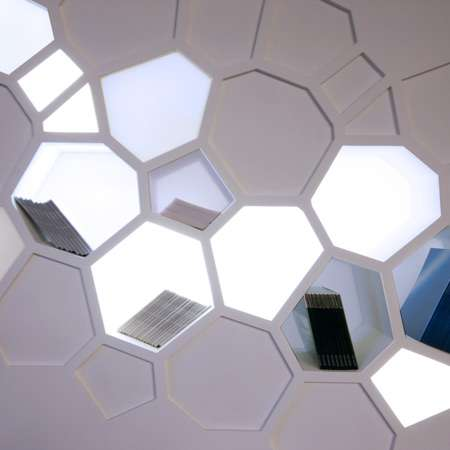 Honeycomb Bookcases
