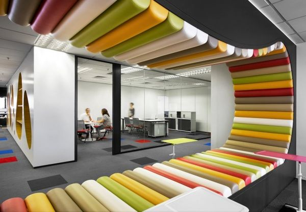 Wildly Abstract Office Designs