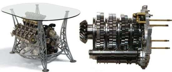 Furniture for Gearheads