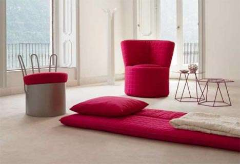 Low Tech Convertible Furniture Shiina Kaori S Simple