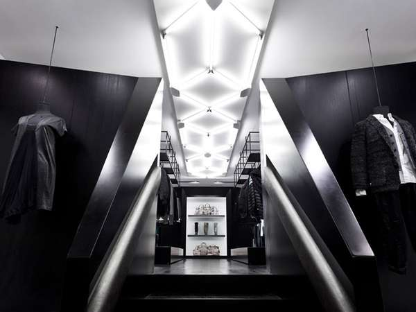 Futuristic Geometric Boutiques Shine Store