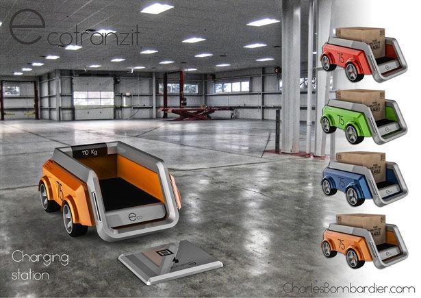 Autonomous Shipping Robots