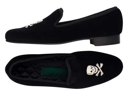 Velvet Gentlemans Slippers