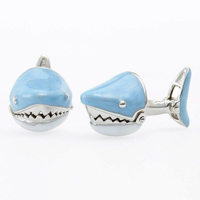 Predatory Shark Cufflinks