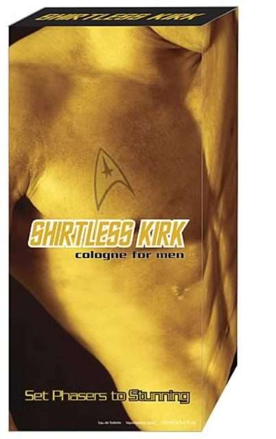 Shirtless Kirk Cologne